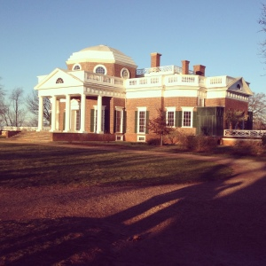 The mighty Monticello. Looks familiar? It's on the back of your nickel, says the history nerd!